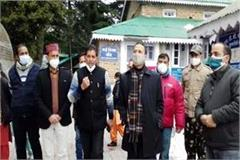 dc inspected the dalhousie covid health center