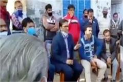 police sealed panchayat house