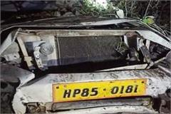 car accident in sirmaur death of 3 including 2 minors