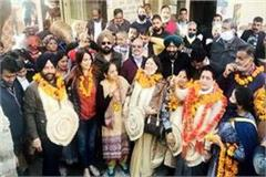 congress occupies parwanoo city council for the second time