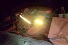 death of one in tipper accident 3 injured
