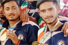 2 players won gold medal in international games