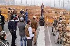 farmer movement delhi police commissioner visits ghazipur border
