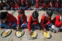 education department guidelines mid day meal government schools