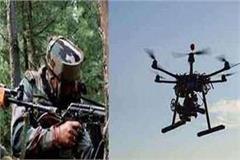 pakistani drone seen at at border