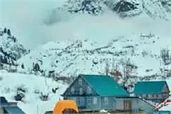snowfall continues in the state many roads blocked including national highway