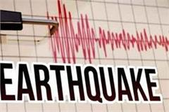 earthquake tremors felt again in himachal