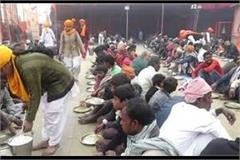 magh mela 2021 bhandara is a temporary city