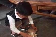 faith of 3 years of innocence for construction of shriram temple