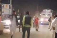 akali and congress clash in punjab candidate seriously injured