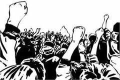 slogans against mandi central government