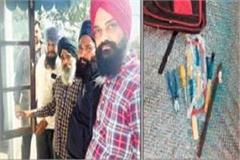 the thief came to steal at gurdwara sahib ran away