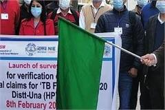 survey started to identify tb patients