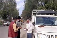 cm flying team takes action against overloaded vehicles