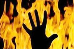 woman burnt to death due to explosion in gas cylinder