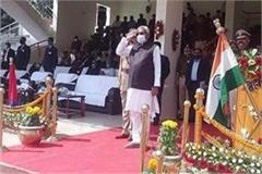 cm nitish honored policemen