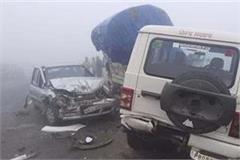 terrible road accident on jalandhar ludhiana highway