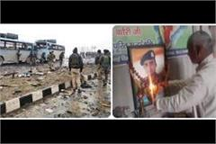 pulwama attack temple built for martyr amit kori