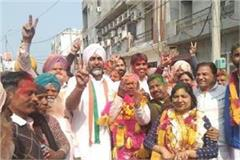 congress mayor for the first time in bathinda in 53 years  manpreet badal