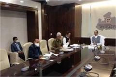 cm shivraj meeting with officers in bhopal