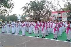 rss women s rally in hoshangabad