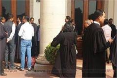 avadh bar association took decision work boycott will continue till 1 march