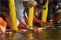 sangh chief mohan bhagwat reached prayagraj said  ganges is