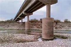 illegal mining endangers highway bridge in ropar
