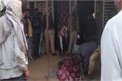 young man committed suicide by hanging himself in the house