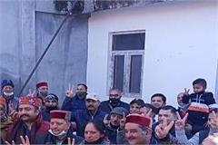 newly elected president of municipal council dalhousie assumed oath