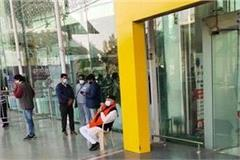 pm modi s brother sitting on strike at lucknow airport