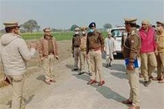 double murder scores bahraich dead body of 2 people found on roadside