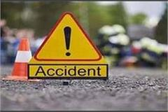 truck and trolley collide in sira da bharo 2 seriously injured