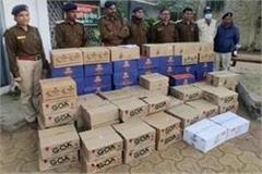 liquor worth lakhs caught in barwani district