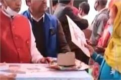 gas stoves distributed to 698 families