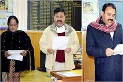 chairman and vice chairman of dehra municipal council took oath