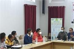 monthly review meeting on tuberculosis held in chamba