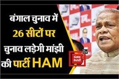 jitan ram manjhi party will contest elections outside bihar for the first time