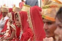 mass marriage scheme 139 couples married 139 couples tied in marriage