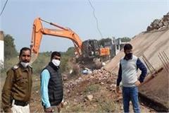 1 crore factory demolished in jabalpur within minutes