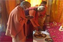 cm yogi visited ramlala said  ayodhya will be a world class city