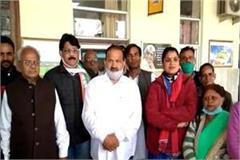 congress gave memorandum for restart facilities in train for passengers