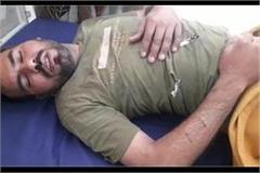 attacked ambush for opposing evil eye on wife victim hospitalized