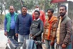 2 bike riders arrested with intoxicant capsules