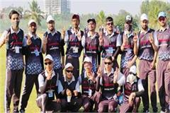mandi vision impaired cricket team bangalore depart