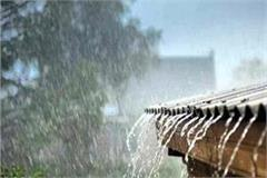 rain alert with thunderstorm in 6 districts of himachal