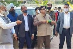 home minister vij flew kites on basant panchami