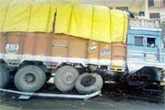 truck accident on shimla highway