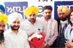 actress tejindra kaur and congress leader aulakh join aap