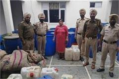 illegal liquor mini factory busted